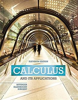 Calculus and Its Applications (11th Edition) 9780321979391
