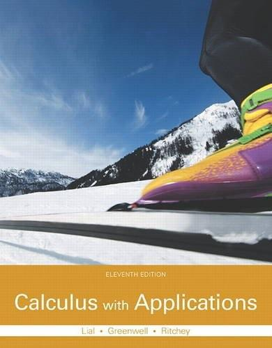 Calculus with Applications 11 9780321979421