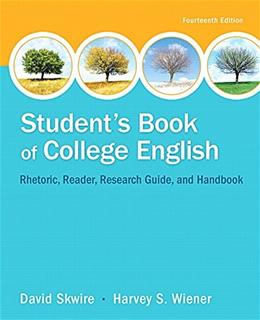 Students Book of College English (14th Edition) 9780321979636