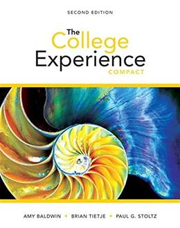 College Experience Compact, by Baldwin, 2nd Edition 9780321980021