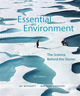Essential Environment: The Science Behind the Stories (5th Edition) 9780321984579