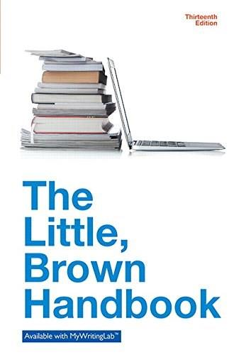 The Little Brown Handbook (13th Edition) 9780321988270