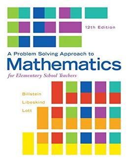 Problem Solving Approach to Mathematics for Elementary School Teachers, A, Plus MyLab Math -- Access Card Package (12th Edition) 12 PKG 9780321990594