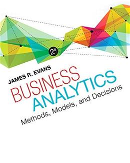 Business Analytics (2nd Edition) 9780321997821