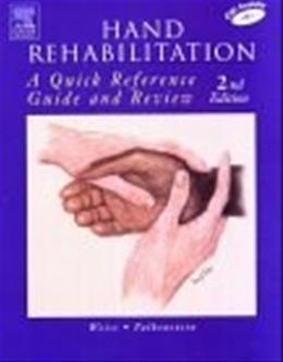 Hand Rehabilitation: A Quick Reference Guide and Review, by Weiss, 2nd Edition 2 w/CD 9780323026109