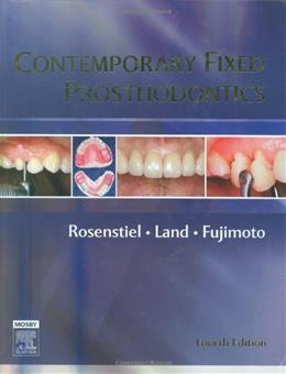 Contemporary Fixed Prosthodontics, by Rosensteil, 4th Edition 9780323028745
