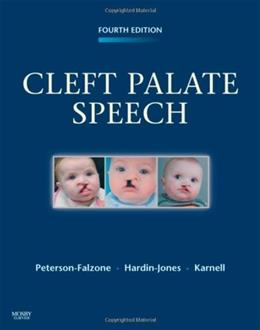 Cleft Palate Speech, by Peterson-Falzone, 4th Edition 9780323048828