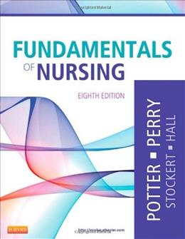 Fundamentals of Nursing, by Potter, 8th Edition 9780323079334