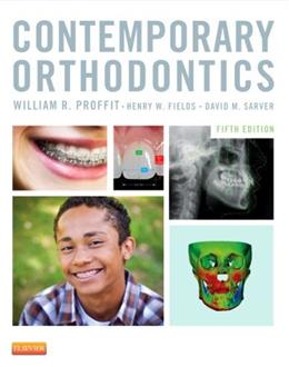 Contemporary Orthodontics, by Proffi, 5th Edition 9780323083171