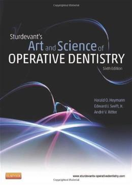 Sturdevants Art and Science of Operative Dentistry, by Heymann, 6th Edition 6 PKG 9780323083331