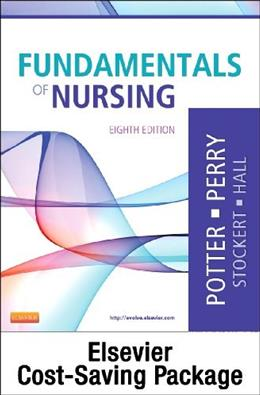 Fundamentals of Nursing Textbook, by Potter, 8th Edition 8 w/DVD 9780323090858