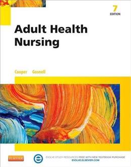 Adult Health Nursing, by Cooper, 7th Edition 7 PKG 9780323100021