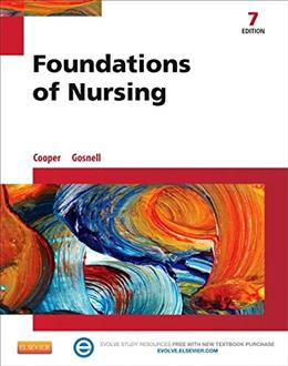 Foundations of Nursing, by Cooper, 7th Edition 7 PKG 9780323100038