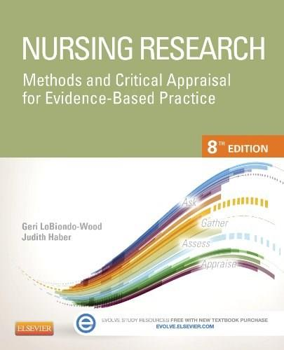 Nursing Research: Methods and Critical Appraisal for Evidence-Based Practice, 8e (Nursing Research: Methods, Critical Appraisal & Utilization) 8 PKG 9780323100861