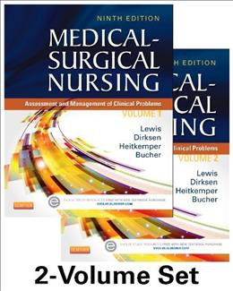 Medical-Surgical Nursing - 2-Volume Set: Assessment and Management of Clinical Problems, 9e (Medical- Surgical Nursing (Lewis) 2 Vol Set) 9 PKG 9780323100892