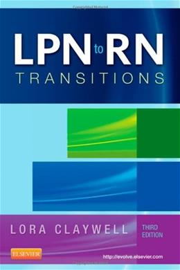 LPN to RN Transitions, 3e 9780323101578