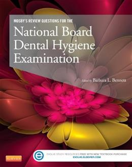 Mosbys Review Questions for the National Board Dental Hygiene Examination, by Mosby PKG 9780323101721