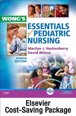 Wongs Essentials of Pediatric Nursing, by Hockenberry, 9th Edition, 2 BOOK SET 9 PKG 9780323101820