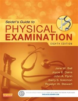 Seidels Guide to Physical Examination, 8e (Mosbys Guide to Physical Examination) 8 PKG 9780323112406