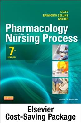 Pharmacology and the Nursing Process, by Lilley, 7th Edition, 2 Book Set 7 PKG 9780323113410