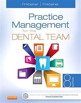 Practice Management for the Dental Team, by Finkbeiner, 8th Edition 9780323171434