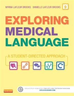 Exploring Medical Language - Text and Audio CDs Package: A Student-Directed Approach, 9e 9 w/CD 9780323228848