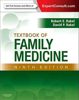 Textbook of Family Medicine, by Rakel, 9th Edition 9 PKG 9780323239905