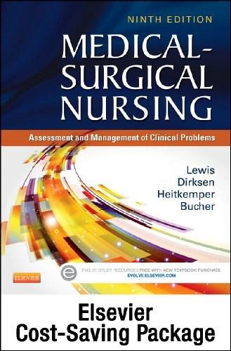 Medical-Surgical Nursing: Assessment and Management of Clinical Problems, by Lewis, 9th Edition 9 PKG 9780323243469