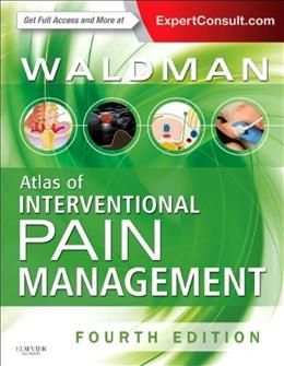 Atlas of Interventional Pain Management, by Waldman, 4th Edition 4 PKG 9780323244282