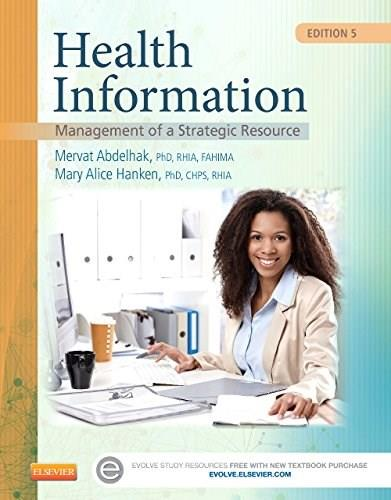 Health Information: Management of a Strategic Resource, 5e 9780323263481