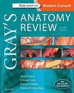 Grays Anatomy Review, by Loukas, 2nd Edition 2 PKG 9780323277884