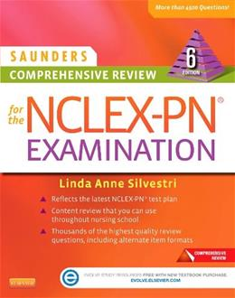 Saunders Comprehensive Review for the NCLEX-PN® Examination, 6e (Saunders Comprehensive Review for Nclex-Pn) 6 PKG 9780323289313