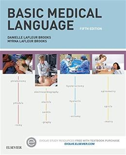 Basic Medical Language with Flash Cards, by Brooks, 5th Edition 5 PKG 9780323290487