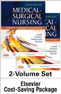 Medical-Surgical Nursing: Assessment and Management of Clinical Problems, by Lewis, 9th Edition 9 PKG 9780323294577