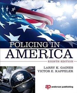 Policing in America 8 9780323311489