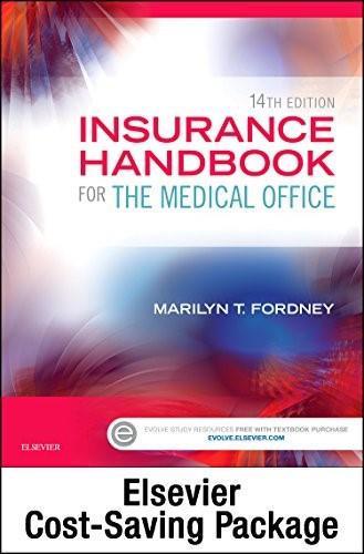 Insurance Handbook for the Medical Office - Text and Workbook Package, 14e 9780323316910