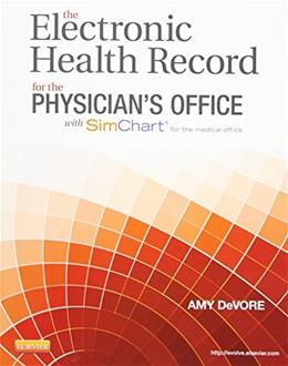 ELECTRONIC HLTH.RECORD F/PHYS.-W/ACCESS PKG 9780323322836
