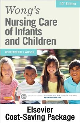 Wongs Nursing Care of Infants and Children, by Hockenberry, 10th Edition, 2 BOOK SET 10 PKG 9780323328333