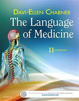 The Language of Medicine, 11e 9780323370813