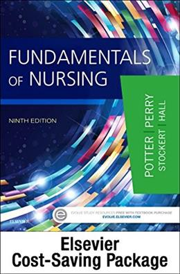 Fundamentals of Nursing - Text and Virtual Clinical Excursions 3.0 Package, 9e 9780323416207