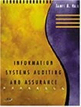 Information Systems Auditing and Assurance, by Hall BK w/CD 9780324003185