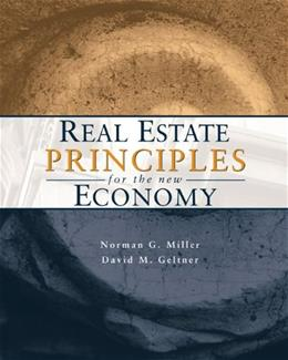 Real Estate Principles for the New Economy, by Miller BK w/CD 9780324187403