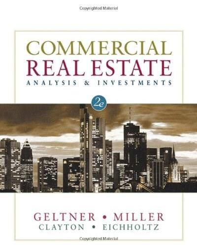 Commercial Real Estate Analysis and Investments 2 w/CD 9780324305487