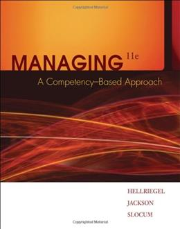 Managing- Acompetency Based Approach 11 PKG 9780324421408