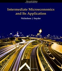 Intermediate Microeconomics and Its Application, 11th Edition 11 PKG 9780324599107