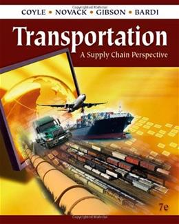 Transportation: A Supply Chain Perspective 7 9780324789195