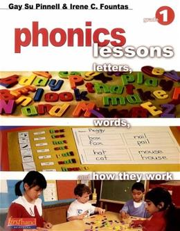 Firsthand Phonics Lessons: Letters, Words, and How They Work, by Pinnell, Grade 1 9780325005614