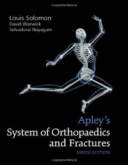 Apleys System of Orthopaedics and Fractures, by Solomon, 9th Edition 9780340942055