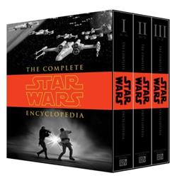 Complete Star Wars Encyclopedia, by Sansweet, 3 VOLUME SET PKG 9780345477637