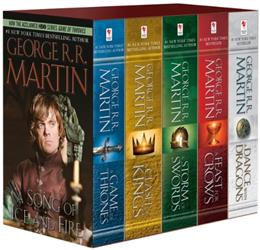 Game of Thrones, by Martin, 5 BOOK SET PKG 9780345535528